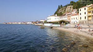 Baden & Schwimmen in Piran