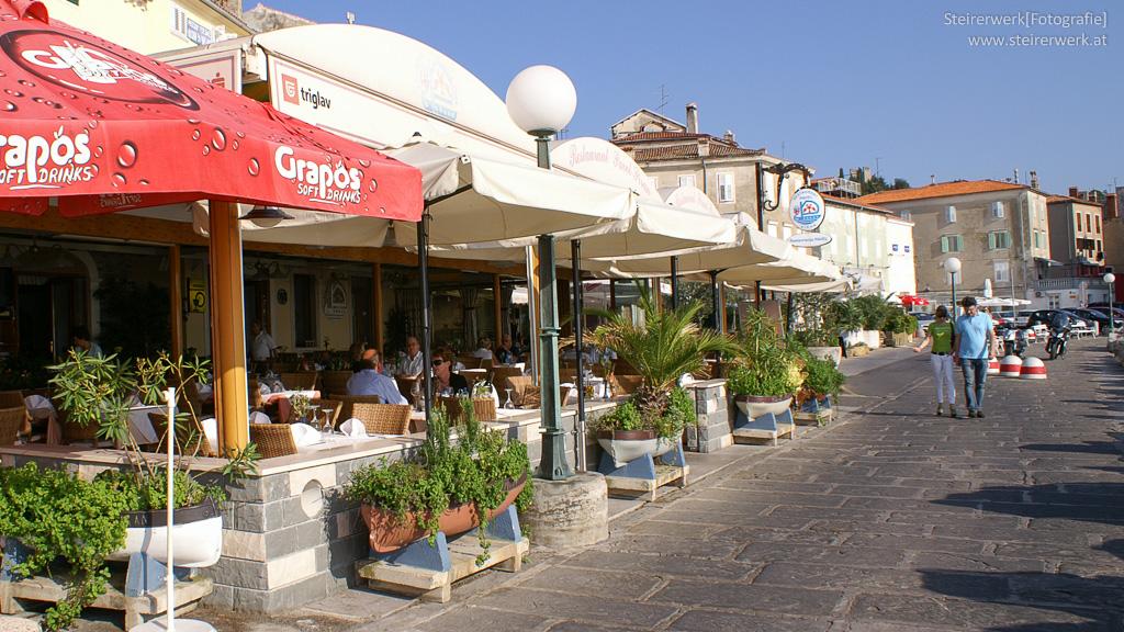 Restaurants in Piran